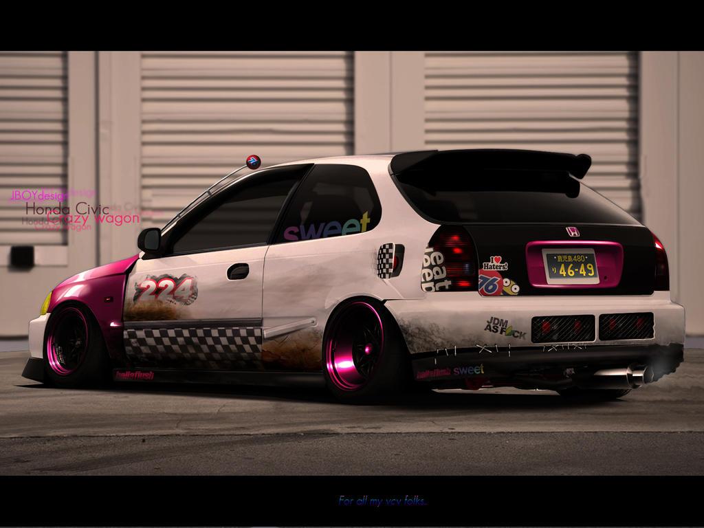 Honda Civic Crazywagon