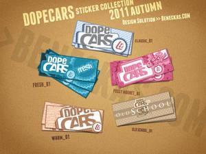 dopecars stickers