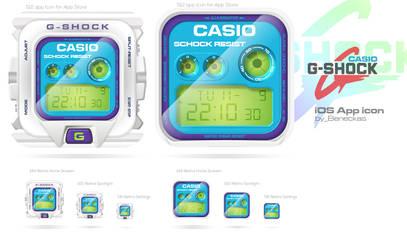 Casio G-SHOCK DW6900cs_app icon