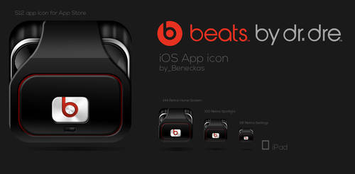 Beats by dr. dre app icon