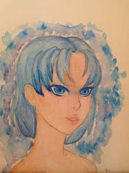 [Traditional Fanart SM] Blue Eyes by Dieliala