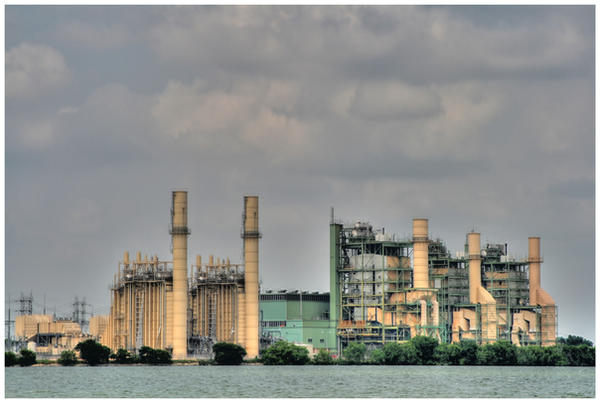 Braunig Lake Power Plant HDR 2 by shawn529