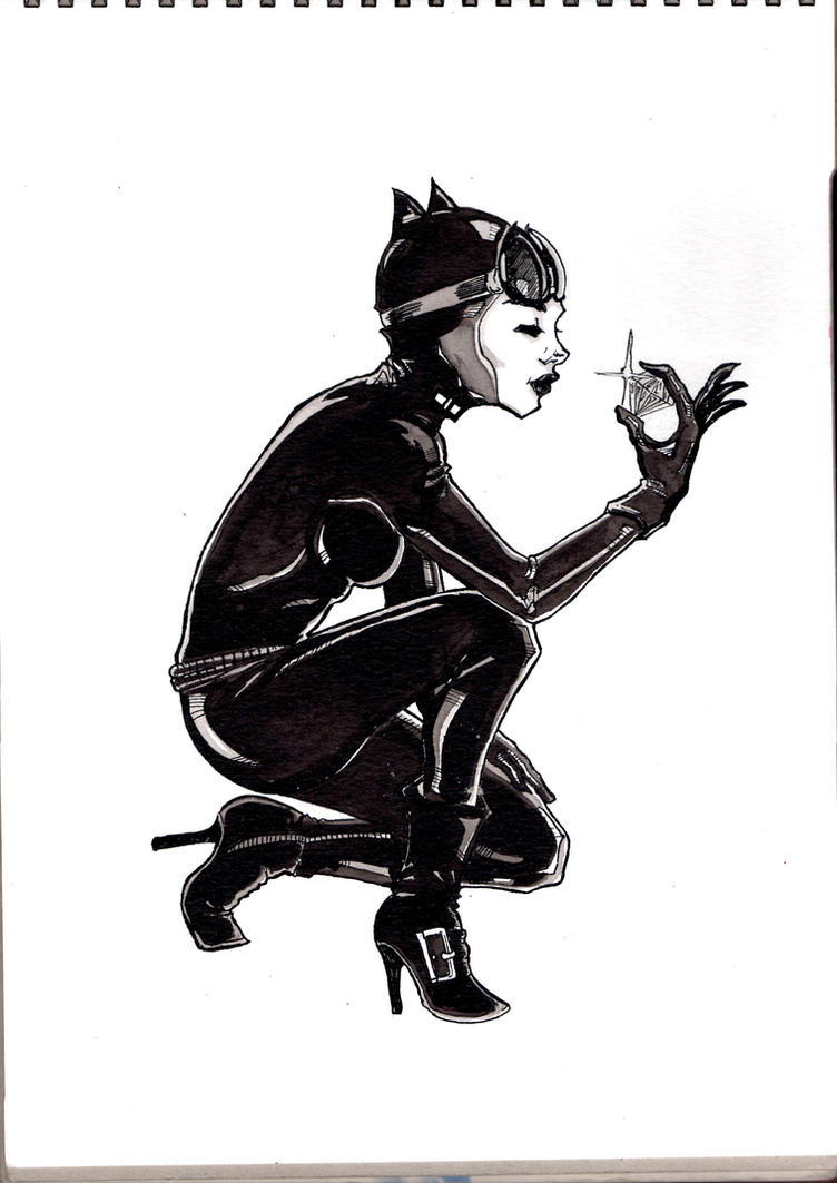 Catwoman by HostIle9455