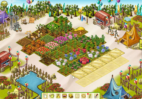 Oasis game art