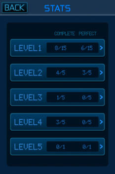game statistics screen