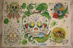 Skull Flash Sheet