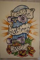 Skateboard Design by itchysack