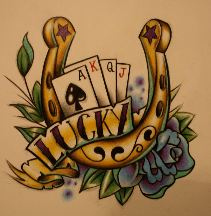 Horseshoe Tattoo Design by itchysack on DeviantArt