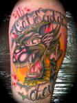 Cat Scratch Fever Tattoo