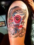 Gypsy woman tattoo