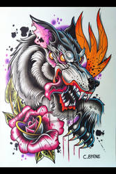 Wolf by itchysack
