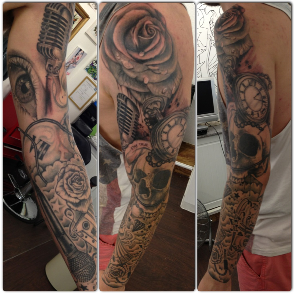Image Result For Black And Grey Tattoos New Orleans
