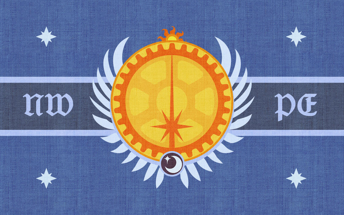 Flag of the NWPE by Etherium-Apex