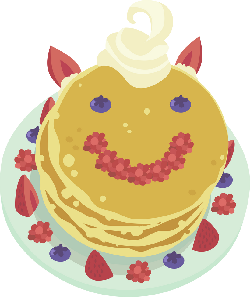 Princess Celestia's Pancakes - Vector by Etherium-Apex