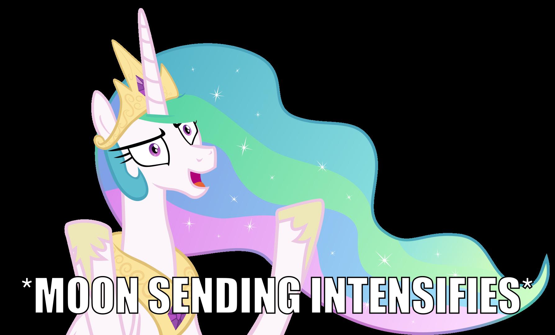 *Moon Sending Intensifies* by Etherium-Apex