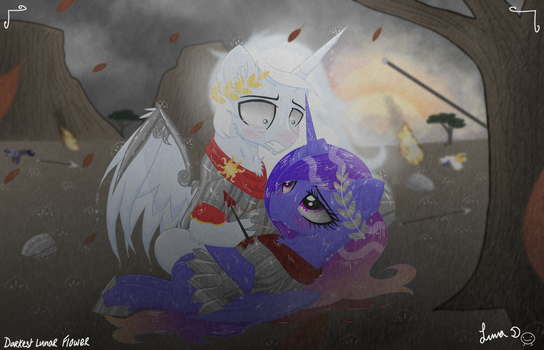 (Commission) The Passing of Lady Galaxia by Etherium-Apex
