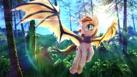 Cynifree in the Woods by Etherium-Apex