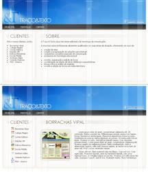 Traco e Texto website