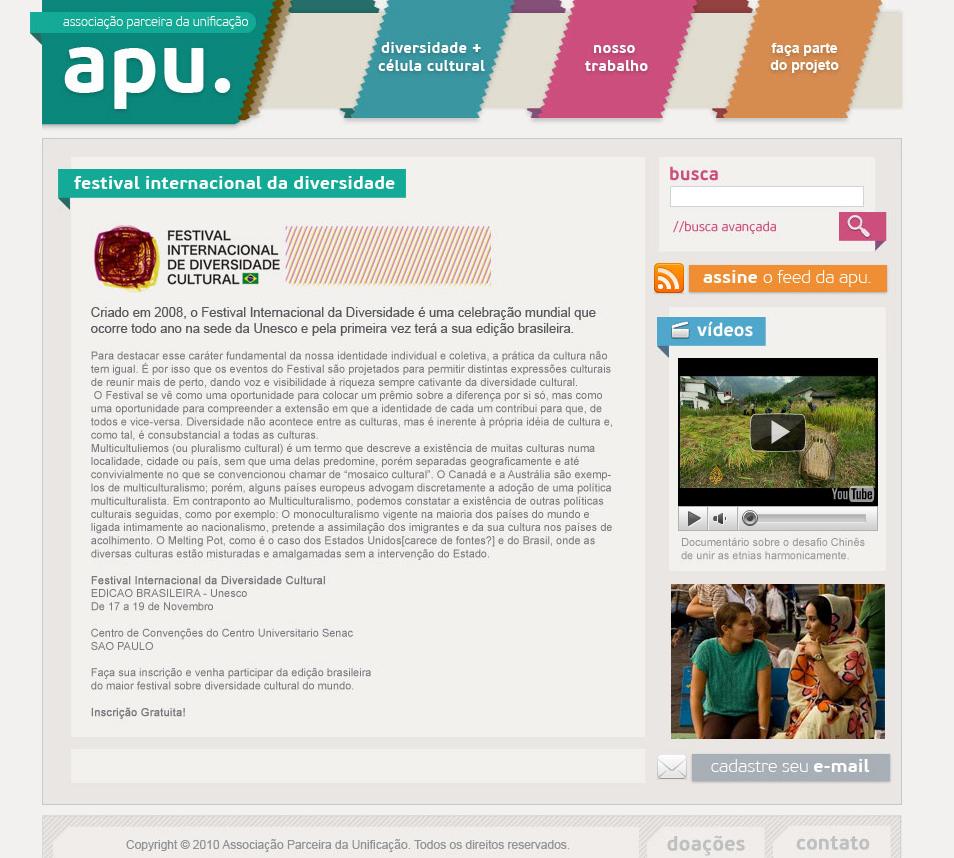 APU website