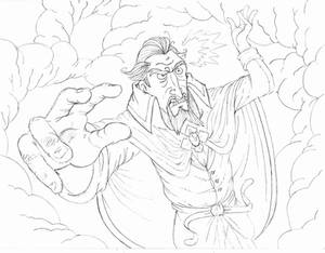 Dr.Orpheus...IN ACTION pencils