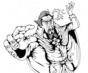 Dr. Orpheus...IN ACTION inks
