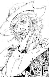 Don Quixote Comic Cover_Inks by iso36