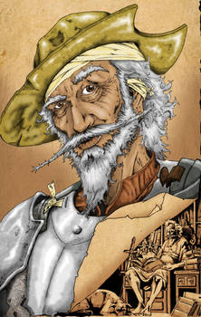 Don Quixote Comic Cover_Colors