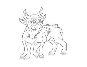 Pandoran Boston Terrier AVATAR