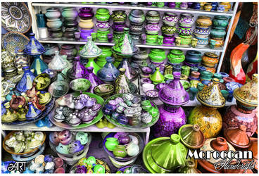 Moroccan handcrafts by snookart