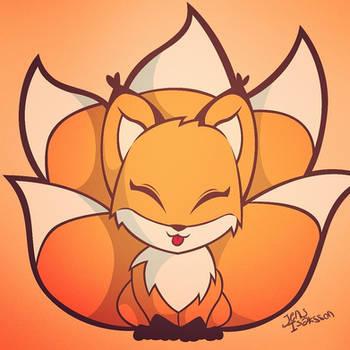 Kitsune-chan by Dreaming-Demon
