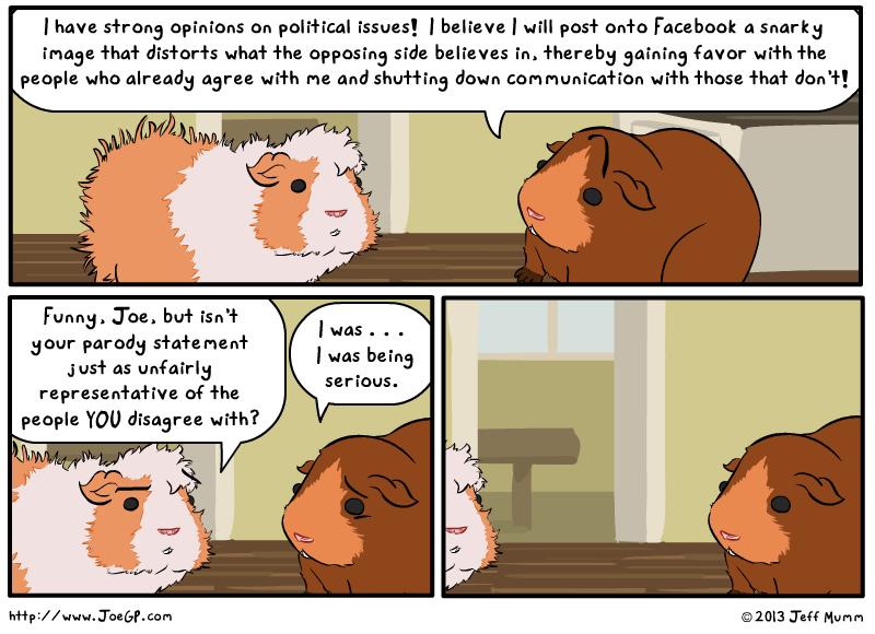 Political Presence by JoeGPcom