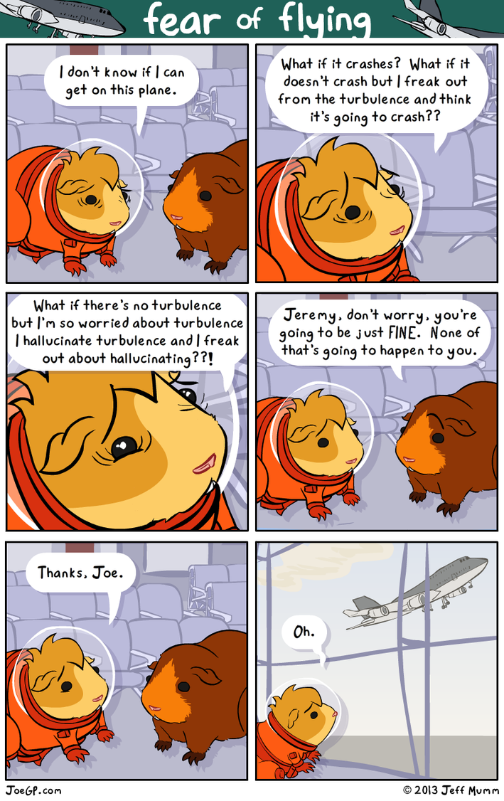 Fear of Flying by JoeGPcom