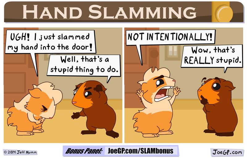 Hand Slamming by JoeGPcom