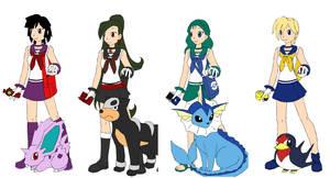 Sailor Senshi x Pokemon 2