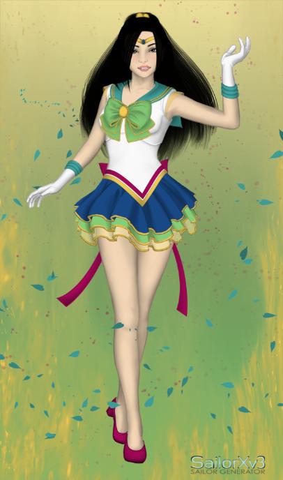 Sailor Princesses: Fa Mulan by ItsAndromeda