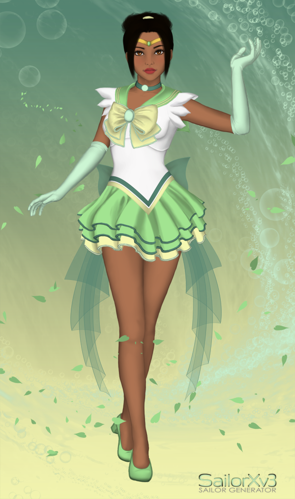 Sailor Princesses: Tiana by ItsAndromeda