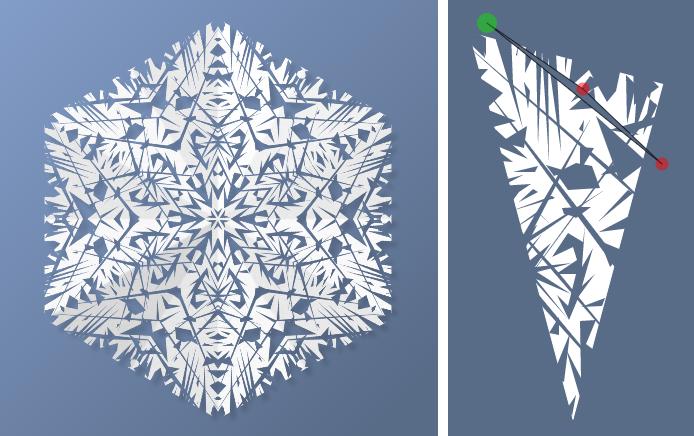 Star Snowflake by ItsAndromeda