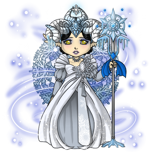 Snowdoll's Snow Queen Outfit by ItsAndromeda