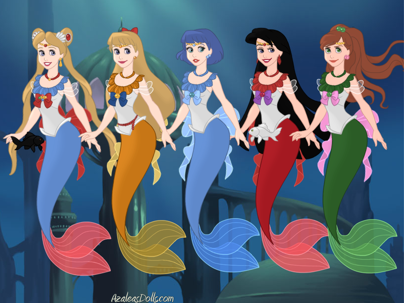 Sailor Mermaids by ItsAndromeda