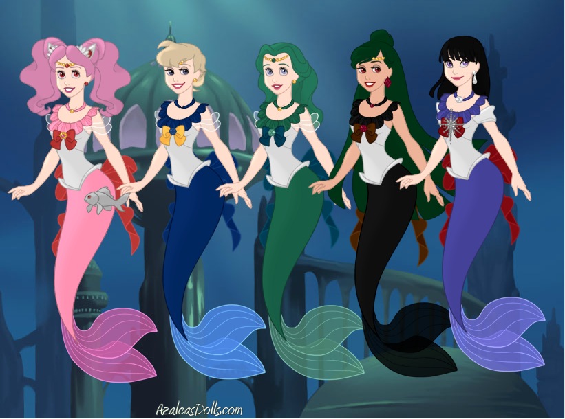 Sailor Mermaids: Outer Senshi by ItsAndromeda