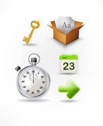 Free icon set - PSD
