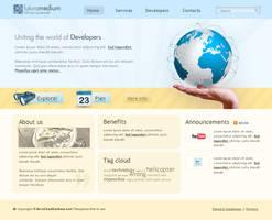 Web 2.0 comany template