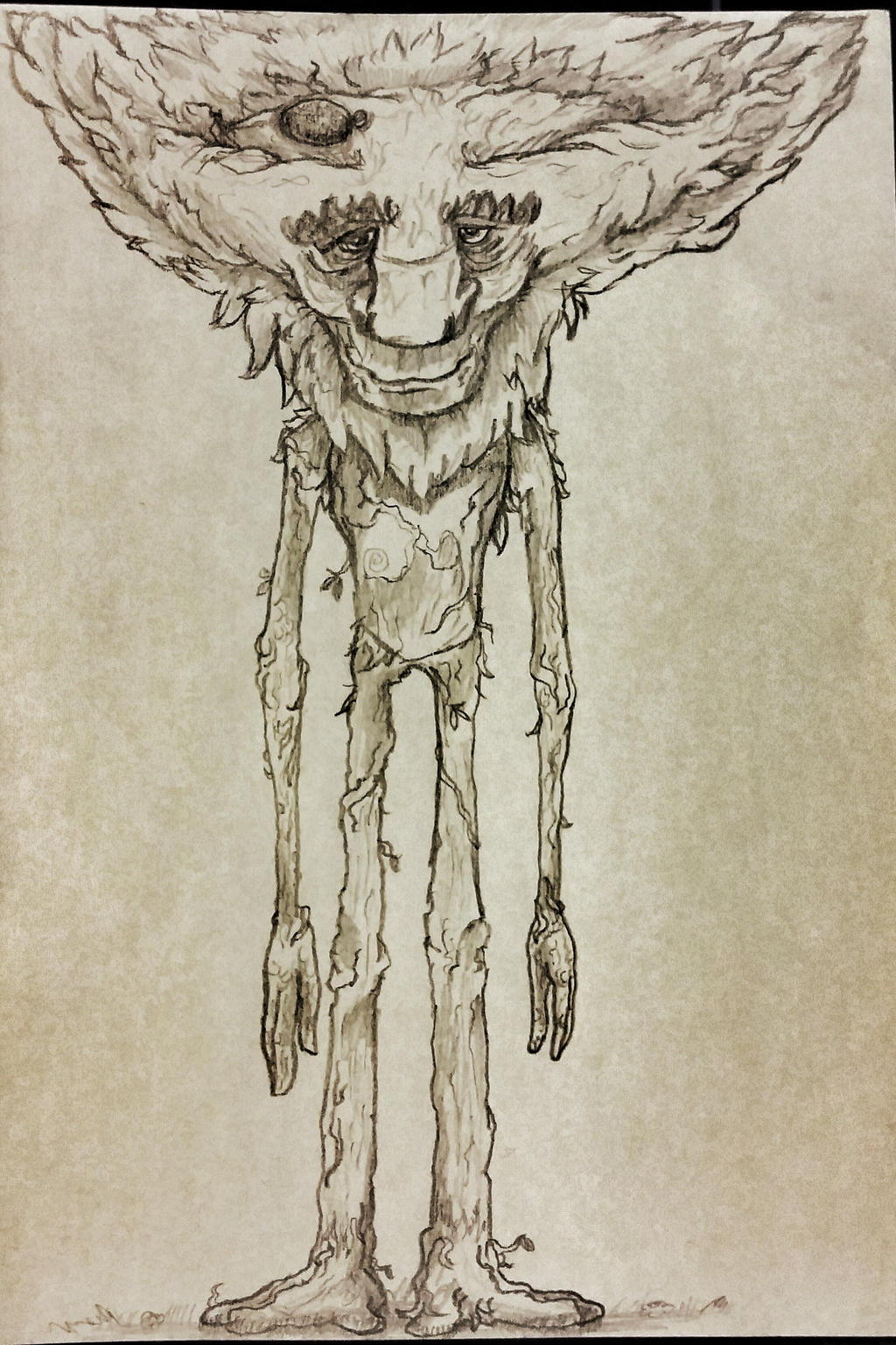 Ivern the Green Father sketch by Scootbumps on DeviantArt