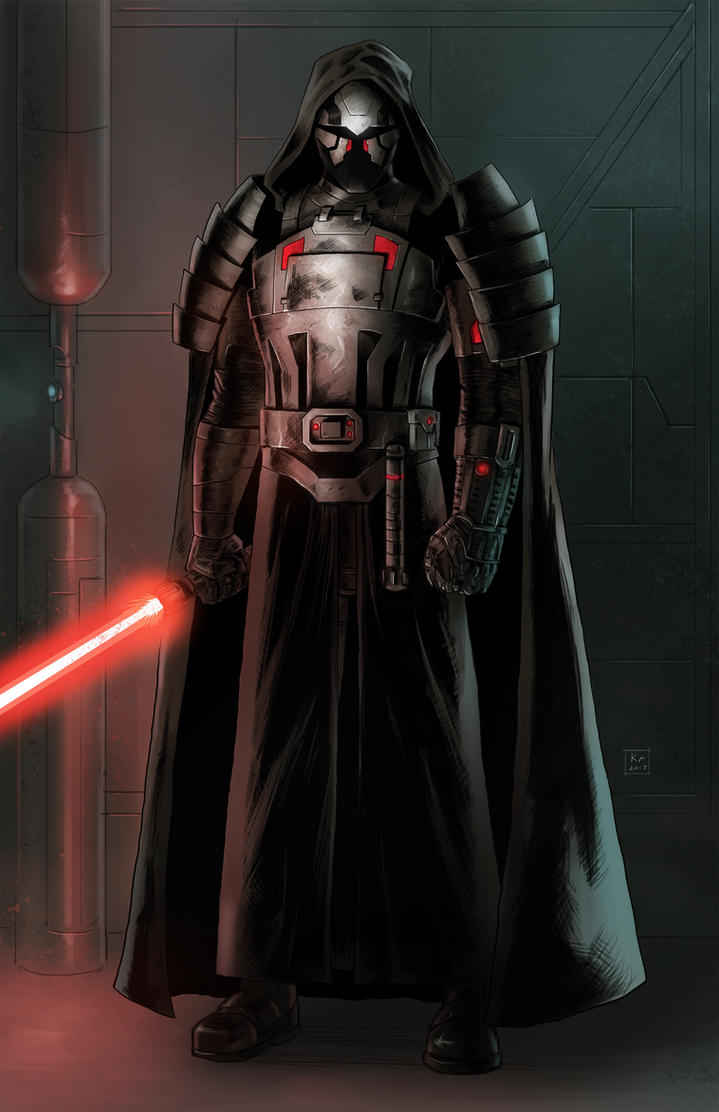 Darth Viathan (Commission) by KaRolding