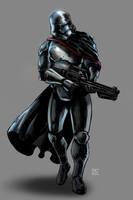 Captain Phasma (redone) by KaRolding