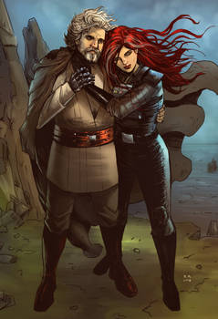 Old Luke and Mara (Commission)