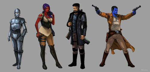 Star Wars OCs by KaRolding