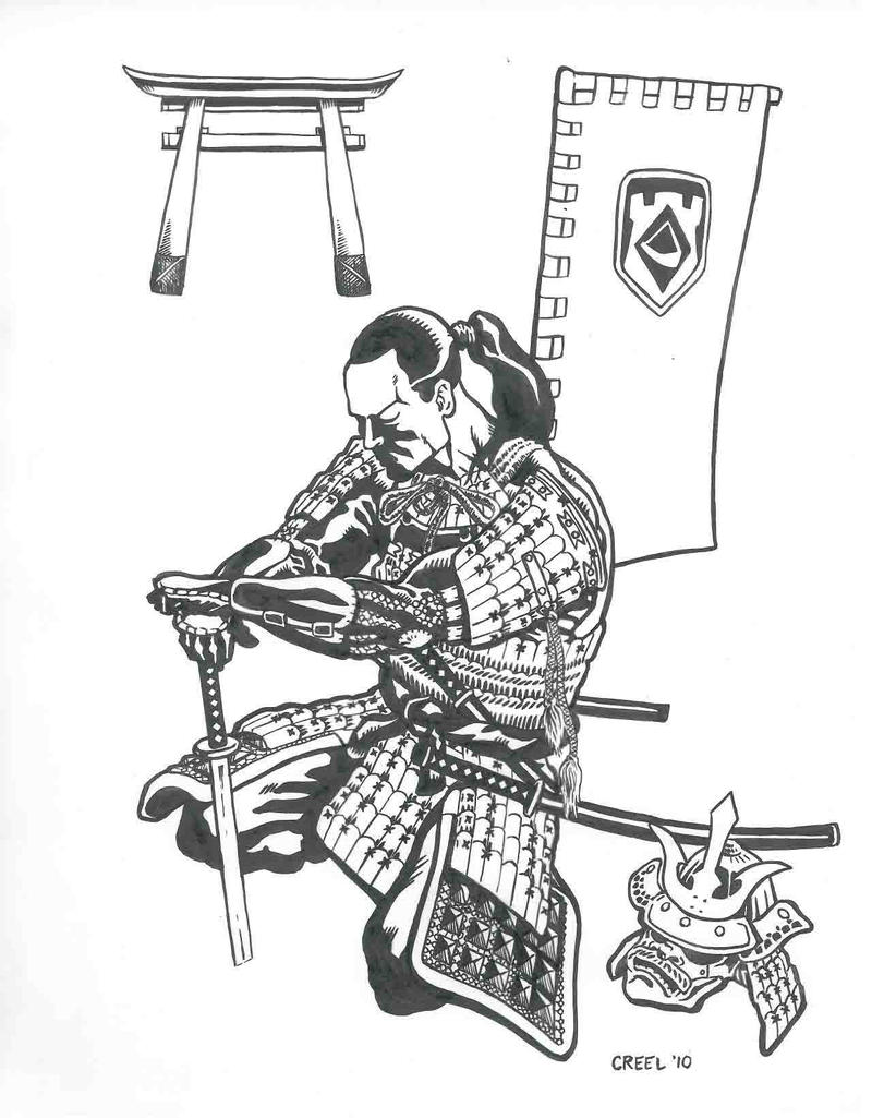 Samurai Drawings http://mr-ss.deviantart.com/art/Samurai-Inked ...