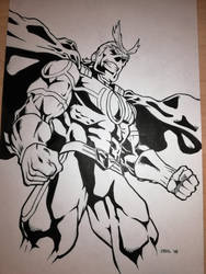 All Might Ink by mr-ss