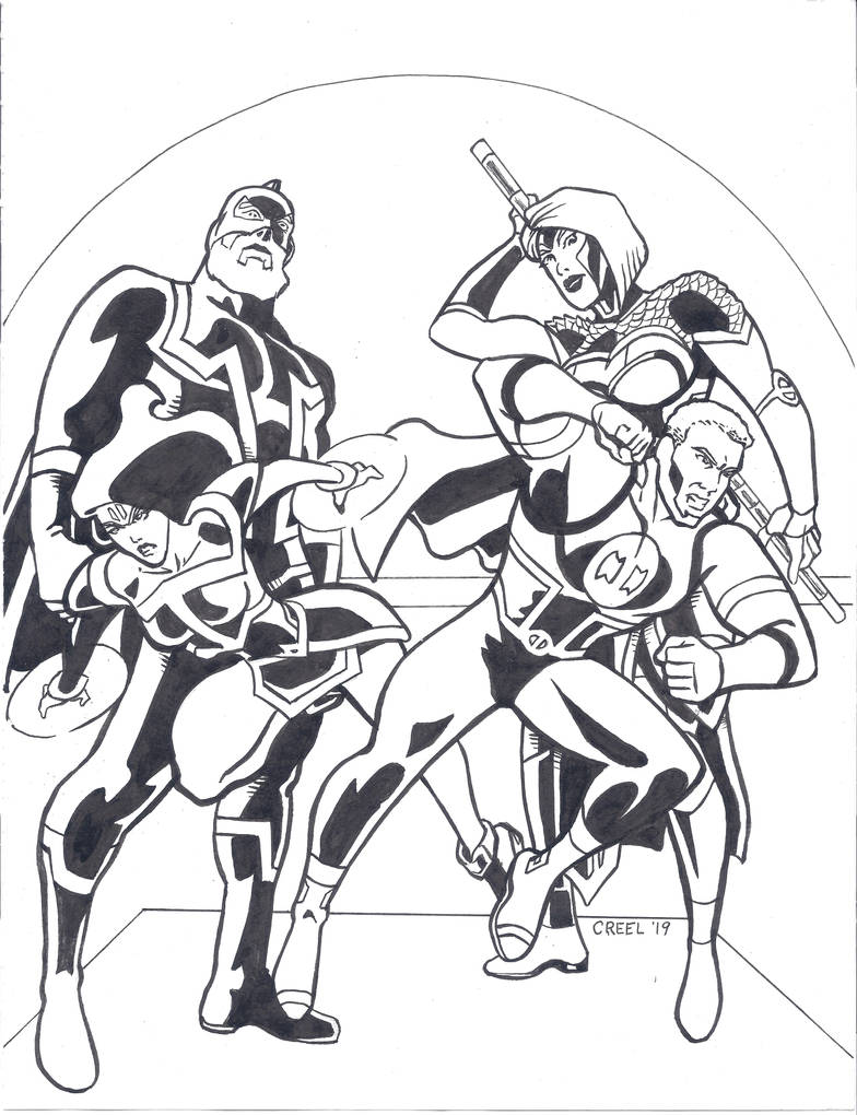 Impossible Family from So Pro Comics by mr-ss